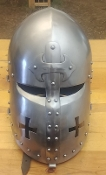 Shovel-Faced Crusader Helm
